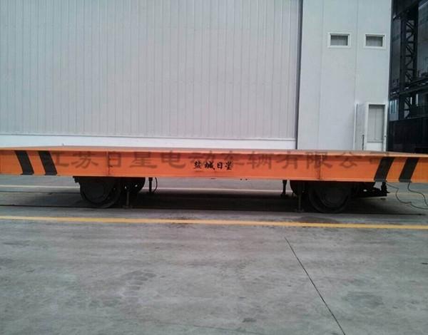 轨道式电动平车对轨道的铺设要求